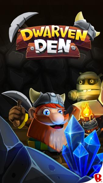Dwarven Den — The Mining Puzzle Game