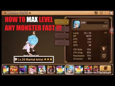 Summoners War: эвент Level Up