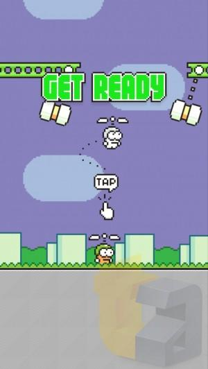 Swing Copters — от создателя Flappy Birds